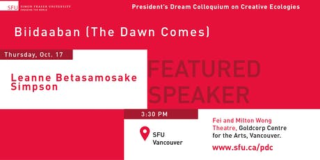 President's Dream Colloquium: Leanne Betasamosake Simpson tickets