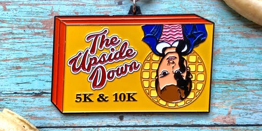 Only $15! 2019 The Upside Down 5K and 10K -Green Bay