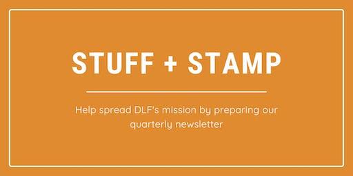 VOLUNTEER OPPORTUNITY: Stuff and Stamp Mailer Prep