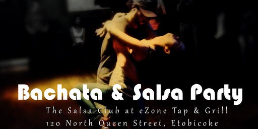 Bachata and Salsa Party | DJ, Dancing  and  Dance Lessons