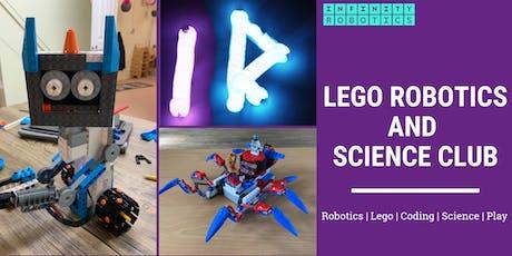 Lego Robotics and Science Club - Dalmeny Church Hall  tickets
