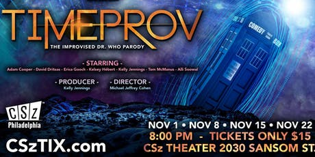 Timeprov: The Improvised Doctor Who Parody tickets