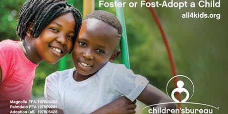Become a Resource Parent & Foster or Foster-Adopt Siblings tickets