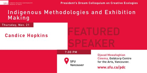 President's Dream Colloquium: Candice Hopkins