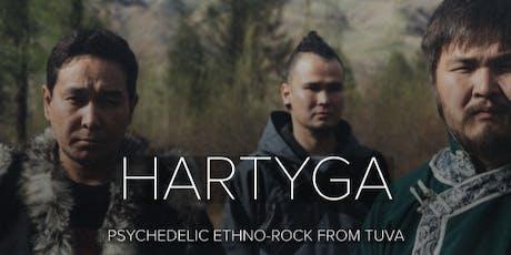 HARTYGA  (Tuvan rock), Arrington De Dionyso tickets