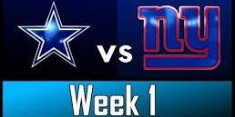 Giants Vs. Cowboys Outdoor tailgate party @ Asbury Ale House