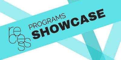 Recess Programs Showcase 2019