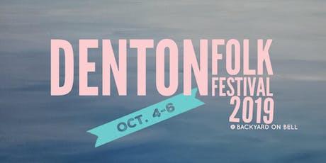 Denton Folk Festival tickets