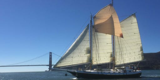 Weekend Wine-Down Join us for a 2.5 hr sail aboard a tall ship on  SF Bay