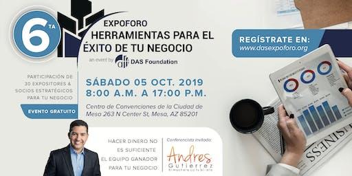 6ta EXPOFORO | HERRAMIENTAS PARA EL EXITO DE TU NEGOCIO