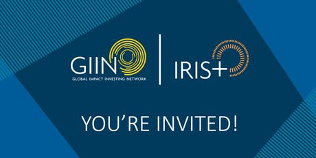 Workshop: Using IRIS+ To Measure & Manage Impact | Singapore tickets