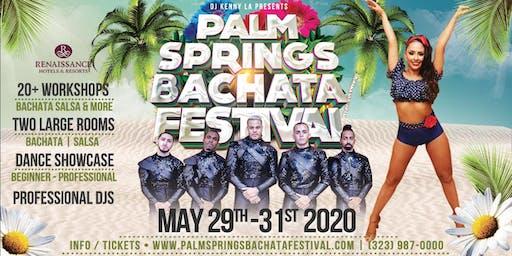 Palm Springs Bachata Festival - May 29/30/31, 2020