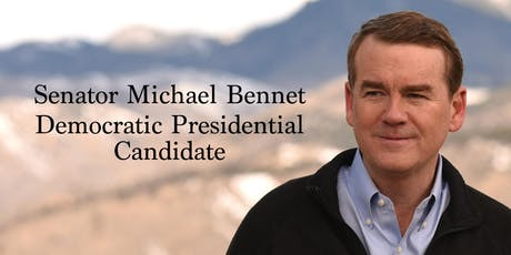 Senator Michael Bennet, Democratic Presidential Candidate tickets