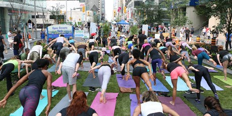 Yoga @ Open Streets TO tickets