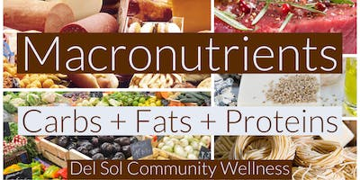 Macronutrients Series: Carbs + Fats + Protein