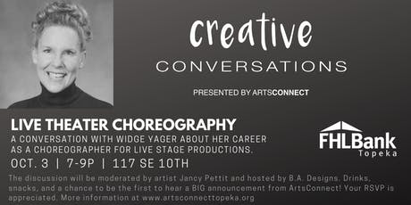 Creative Conversations: Widge Yager tickets