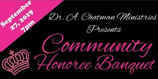 Garland County and Surrounding Areas Community Honoree Banquet