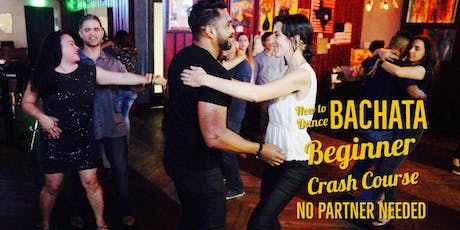 BACHATA 101. Crash Course for Beginners 08/18 tickets