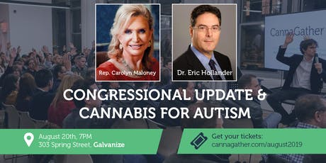 August CannaGather: Congressional Update & Cannabis for Autism tickets