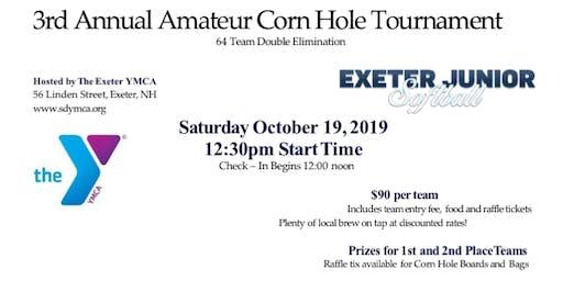 The 3rd Annual Exeter Jr. Softball Amateur Corn Hole Tournament