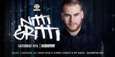 Nitti Gritti at Bassmnt Saturday 9/14 tickets