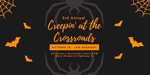 VENDORS: 3rd Annual Creepin' at the Crossroads