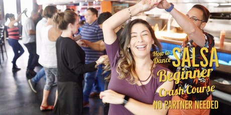 SALSA 101! Crash Course for Beginners 08/25 tickets
