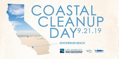 Coastal Cleanup Day 2019- Dockweiler South with Los Angeles Waterkeeper