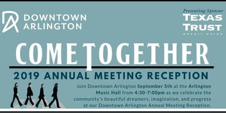 """Come Together"" Annual Meeting 2019 tickets"