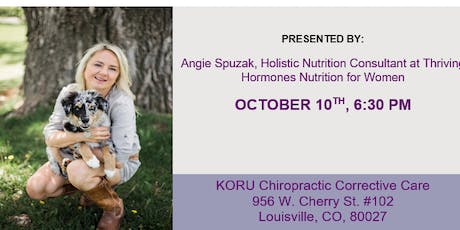 Syncing With Your Cycle : Hormonal Health Optimization tickets