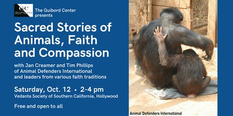 Sacred Stories of Animals, Faith and Compassion tickets