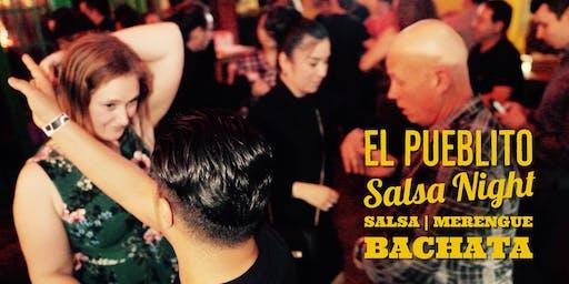Salsa & Bachata Mixer and Party @El Pueblito Patio 09/07
