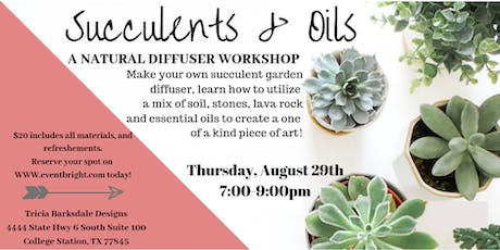 Succulents and Oils DIY tickets