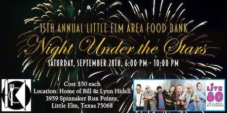 Little Elm Area Food Bank Night Under the Stars tickets