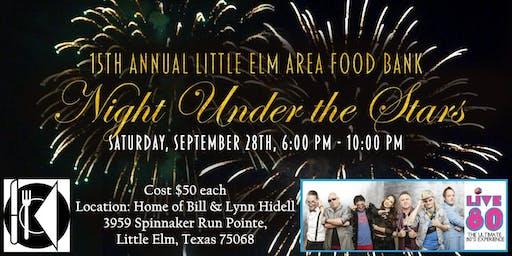 Little Elm Area Food Bank Night Under the Stars
