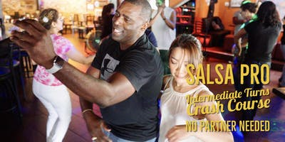 SALSA PRO! Intermediate Turns, Footwork, and Combinations in Salsa 09/21