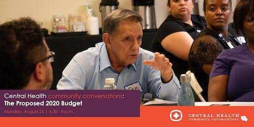 Community Conversation: The Proposed 2020 Budget