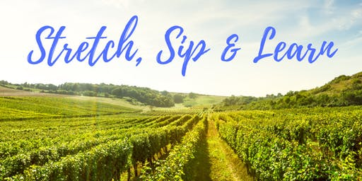 Stretch, Sip & Learn at Flat Rock Cellars