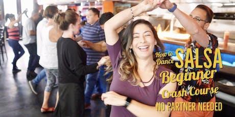 How to Dance Salsa! Beginner Level 10/27 tickets