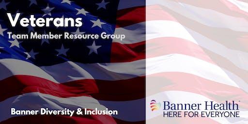 Banner Health Veterans Team Member Resource Group Social - Colorado