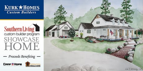 """Southern Living Showcase Home Tour - The Kurk Homes """"Legacy Ranch"""" tickets"""