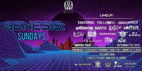 GENESIS: Sundays @ The Lions Den, Ybor - 9/1 tickets