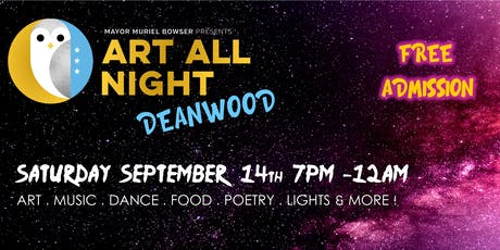 Art All Night Deanwood tickets