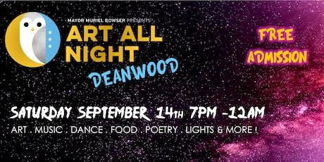 Art All Night Deanwood billets