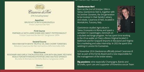 Wine Dinner Featuring Casanova di Neri Winery tickets