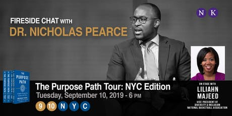 #PurposePath Tour NYC: An Evening with Dr. Nicholas Pearce & Liliahn Majeed tickets