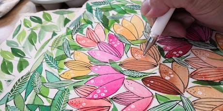 Creative Watercolor + Ink tickets