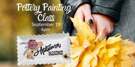 Pottery Painting Class - September tickets