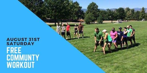 Free community workout