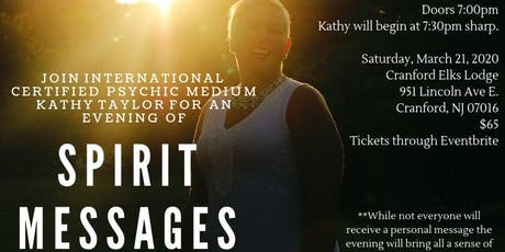 An Evening of Spirit Messages tickets